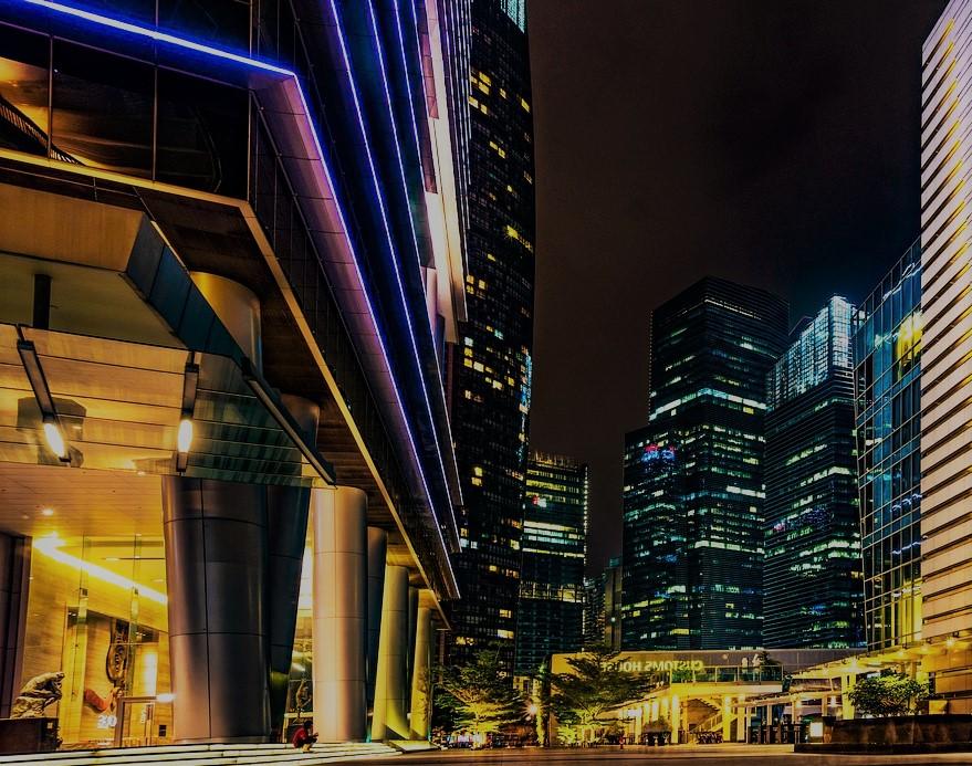 Food court Singapour